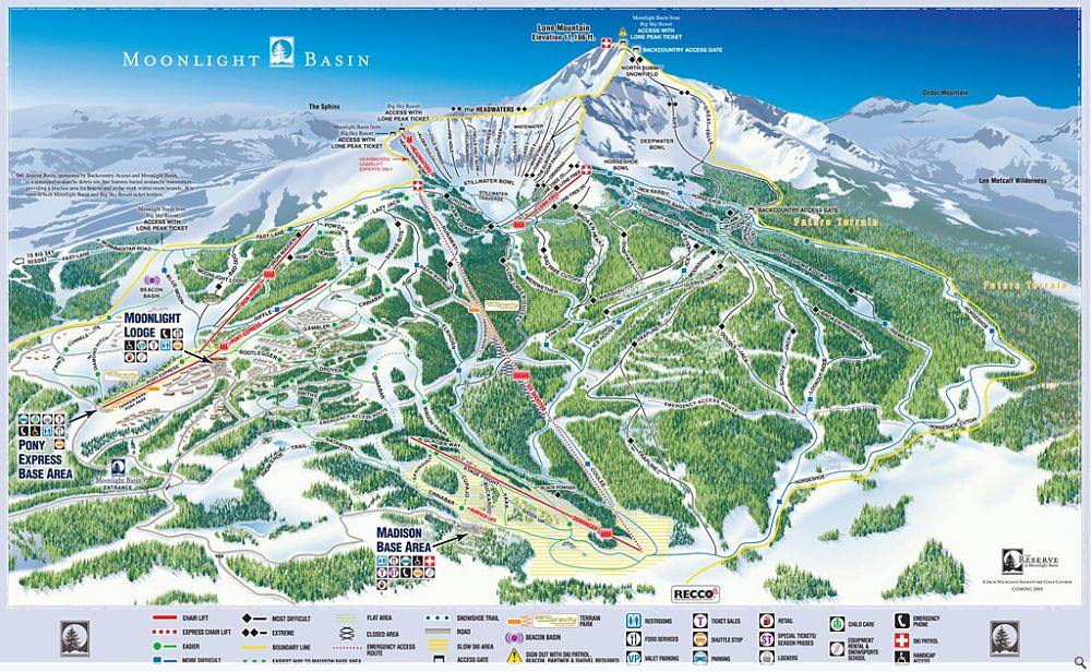 Trail Maps Stats And Directions For Every Montana Ski